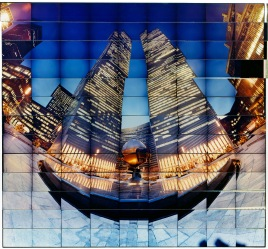 WORLD TRADE CENTER III - Photographic contact print - Client: Self promotion