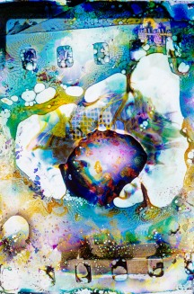 "TELL-TALE HEART 2005 - 30"" X 40"" Digital print, ed. 10"