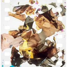 "TWO STEPS BACK 2005 - 30"" X 30"" Digital print, ed. 10"