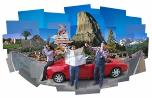 WHERE ARE WE? - Photo print collage - Client: Via Magazine