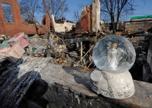 Scenes of destruction and recovery after Hurricane Sandy, Rockaways, NY.