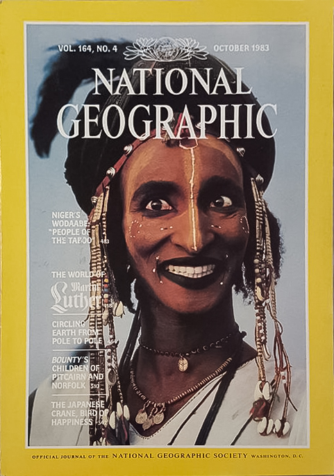 Nat Geo Wodaabe Cover