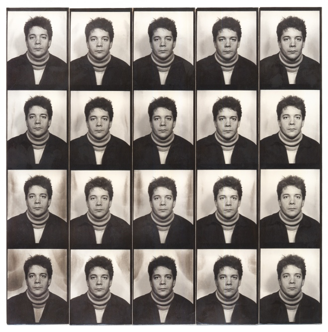 PHOTO BOOTH GRID CIRCA 1982