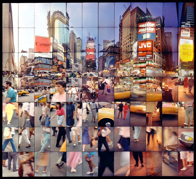 TIMES SQUARE DAY TO NIGHT 1989