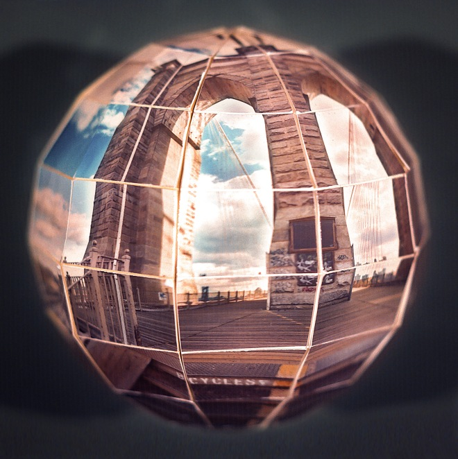 BROOKLYN BRIDGE GLOBE MAQUETTE 1982