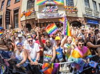 062517-GAYPRIDE-DM- Scenes from Gay Pride parade today, Fifth Ave, NYC. David McGlynn 6/25/17